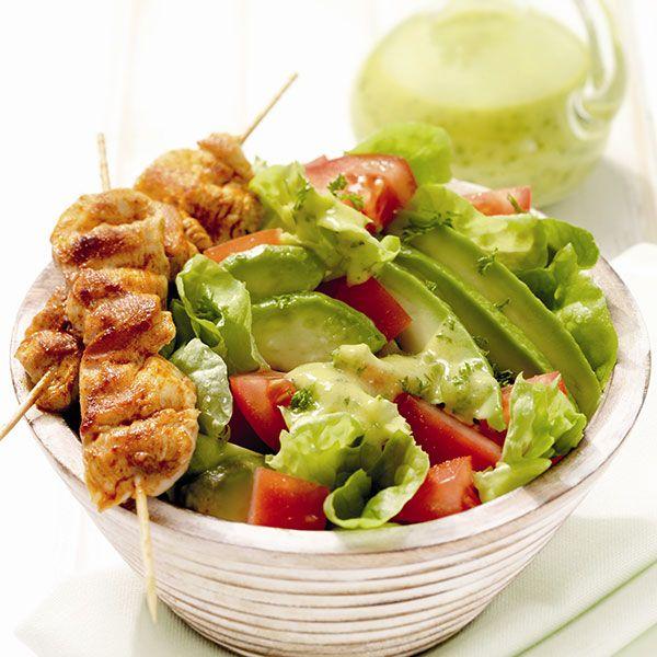 Salade de poulet à l'avocat Recette | Weight Watchers Belgique