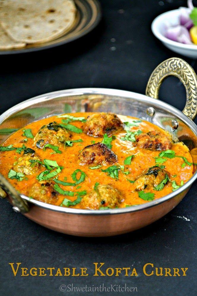 Shweta in the Kitchen: Vegetable Kofta Curry - Veg Kofta Curry
