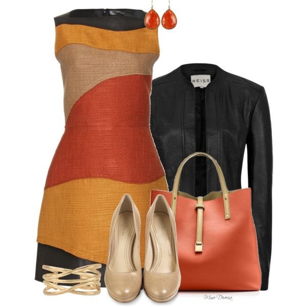 A fashion look from September 2013 featuring Proenza Schouler dresses, Reiss jackets and Cole Haan pumps. Browse and shop related looks.