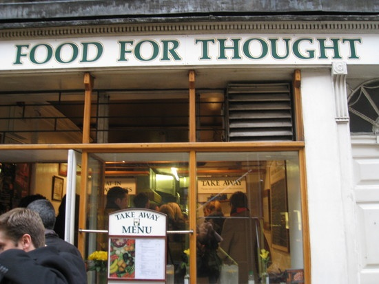 Food for Thought  Favourite Vegetarian & Vegan Restaurant   31 NEAL STREET, COVENT GARDEN, LONDON WC2H 9PR