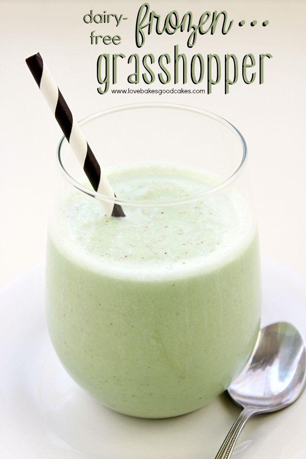 Dairy-Free Frozen Grasshopper Recipe on Yummly. @yummly #recipe