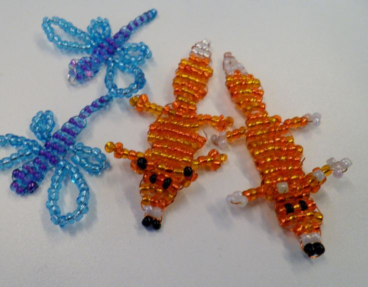 Workshop; Pärldjur, Beaded animals