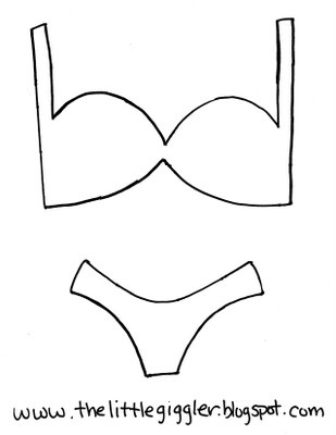 Bra and panties printable partay pinterest bras and panties garlands and bras - Outs longere ...