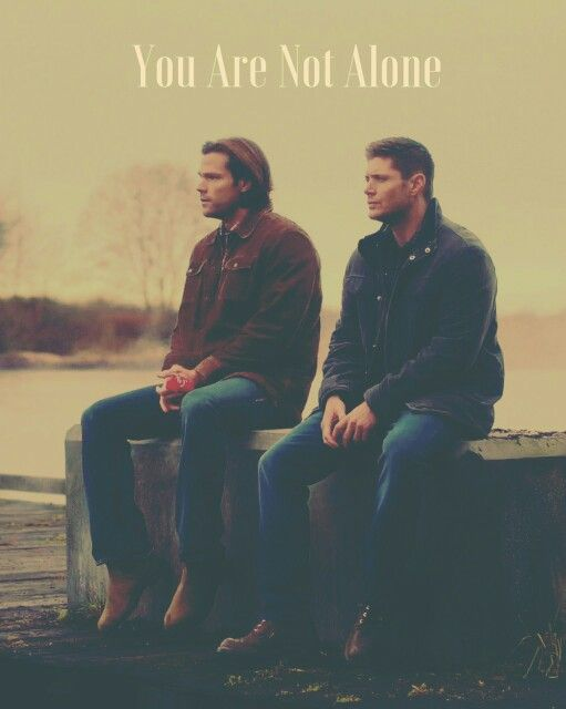 I am, it's too hard sometimes, but then I put a Supernatural in the dvd player and you guys are with me so I'm not completely alone.  You're my heroes <3