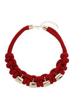 Rope Knot Necklace