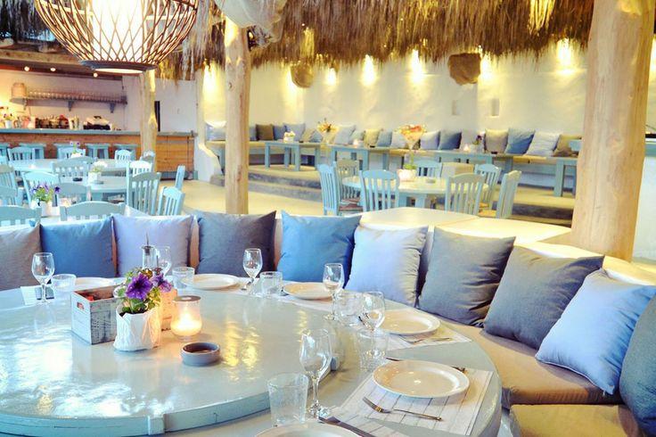Tiki-style hotspot in Mykonos! solymar beach restaurant & bar, mykonos