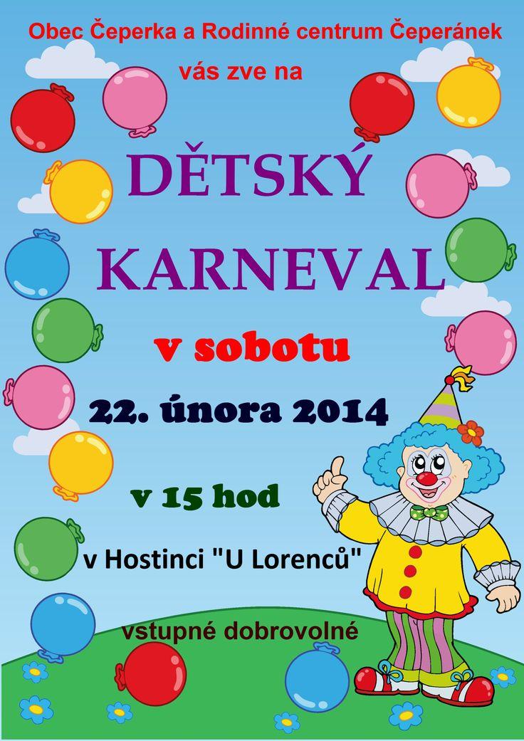 plakát na dětský karneval - Hledat Googlem