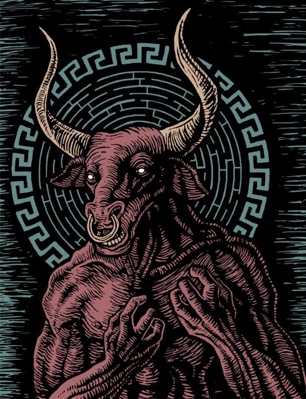 Minotaur of the Labyrinth by FireBert101 on DeviantArt