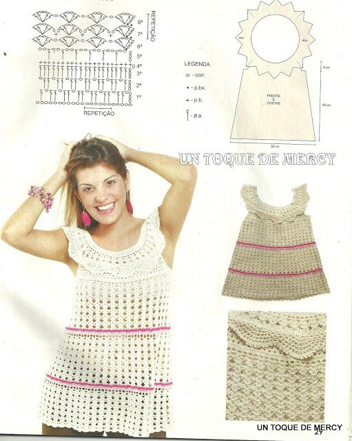 12 best mangas de blusas tejidas a crochet images on Pinterest ...