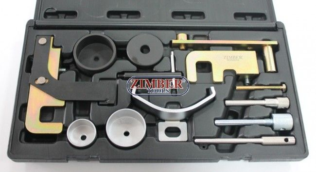 Motor-Einstellwerkzeug-Satz für Renault, Opel, Nissan, Dacia - 1.5, 1.9, 2.2, 2.5 DCI,ZR-36ETTS146-ZIMBER TOOLS