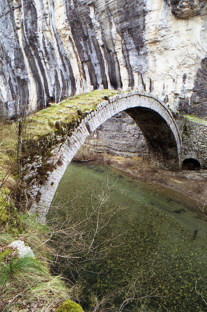 Kontodimos (Lazaridis) stone bridge | by dkilim