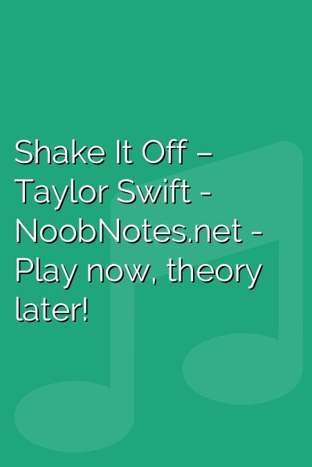 It Recorder Music Sheet Shake Notes