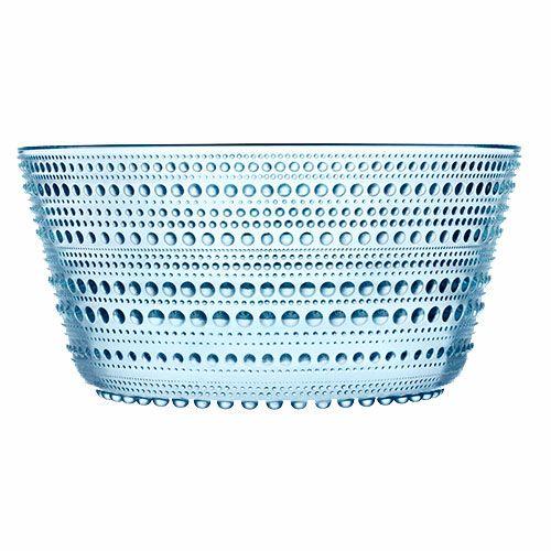 iittala Kastelhelmi Dewdrop Light Blue 2 qt Bowl - #pintofinn