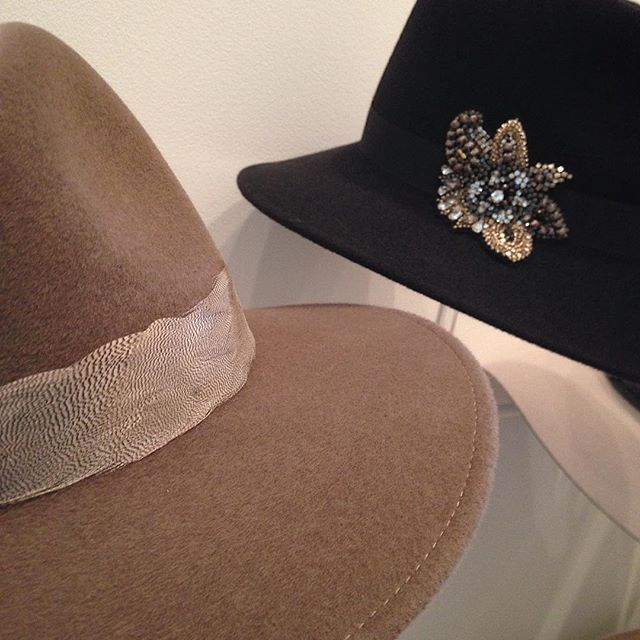 AW16 @scooplondonshow @saatchi_gallery - come and see us in 1st floor foyer today #penmayneoflondon #felt #hats #fedora #trilby #luxury #accessories #madeinbritain #buyer #tradeshow #LFW
