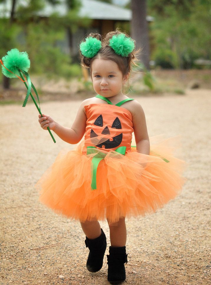 Pumpkin Patch Fairy Halloween Tutu Costume.Perfect for Halloween