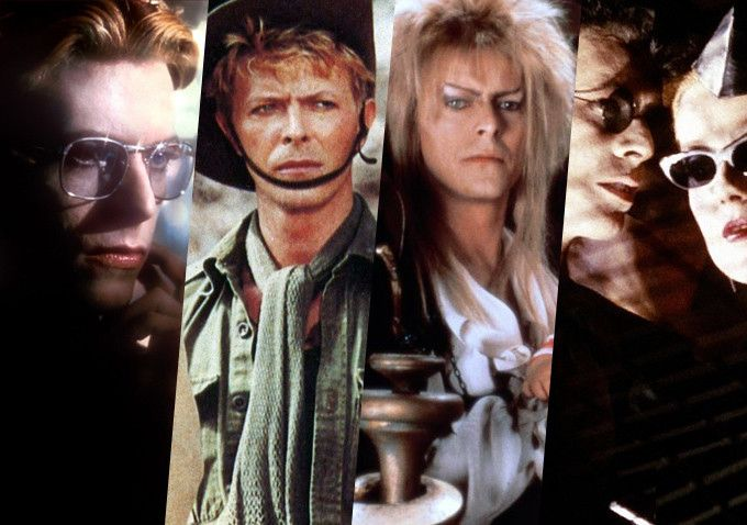 Eight Essential David Bowie movie performances - The Man Who Fell to Earth /The Hunger / Labyrinth / Merry Christmas Mr. Lawrence / Absolute Beginners / The Last Temptation of Christ / Basquiat / The Prestige