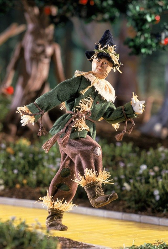The Wizard of Oz Scarecrow porcelain Ken doll