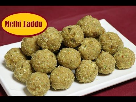 Methi Laddu Recipe Video