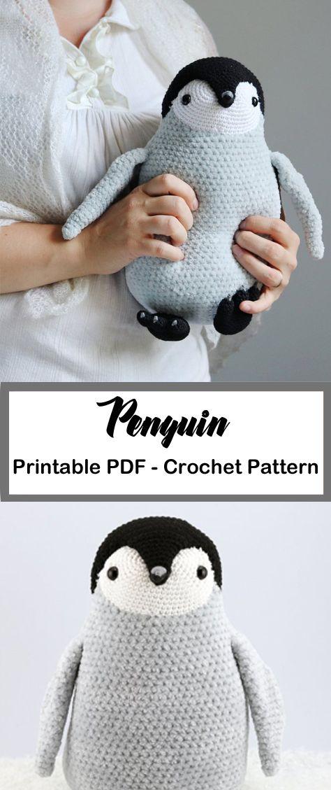 Make a Cute Penguin Toy – Häkeln