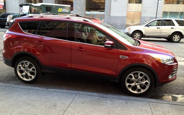 Der 2013er Ford Escape. Inkl. Einparkfunktion... Hatte das der Tiguan nicht schon vor 4 Jahren?