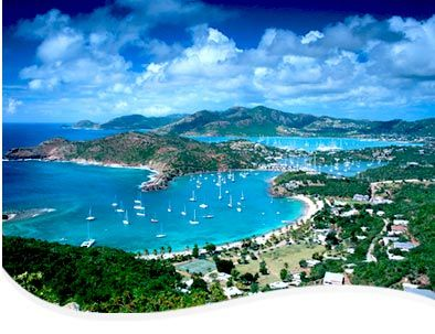 St Johns, Antigua - the island has 365 beaches, one for every day! of the year!