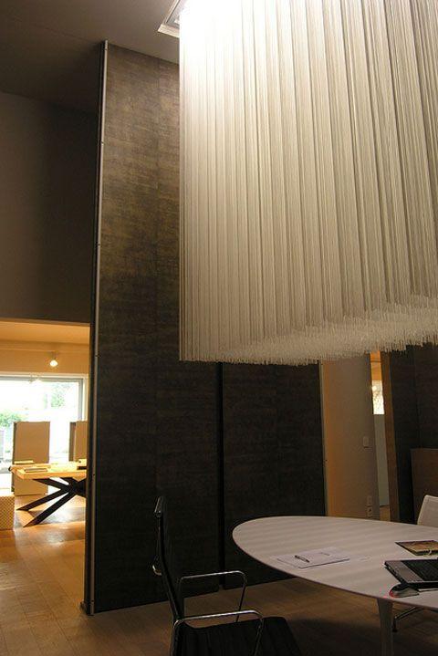 DRAPPO OFFICINA TESSILE  -02 / Progetto-Concept  della sede di  Calderara d. R. Bologna 2005 design by LAURO GHEDINI & PARTNERS architecture & design