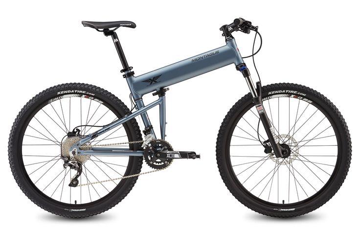 Paratrooper Highline folding mountain bike