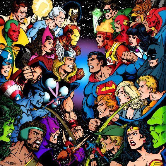 Avengers vs. Justice League by George Pérez.