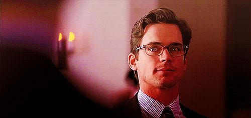 Neal Cafferty, Matt Bomer, gif, glasses,