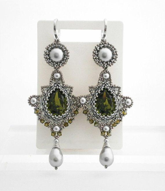 Ohrringe aus swarovski perlen anleitung