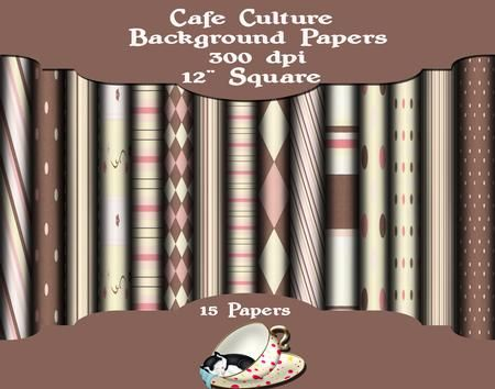 Cafe Culture on Craftsuprint - Add To Basket!