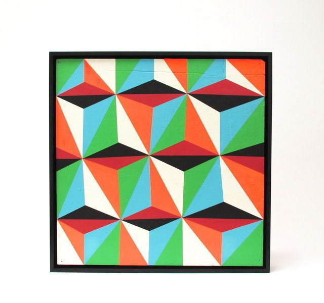 Untitled (Geometric), 2006, by Barry McGee