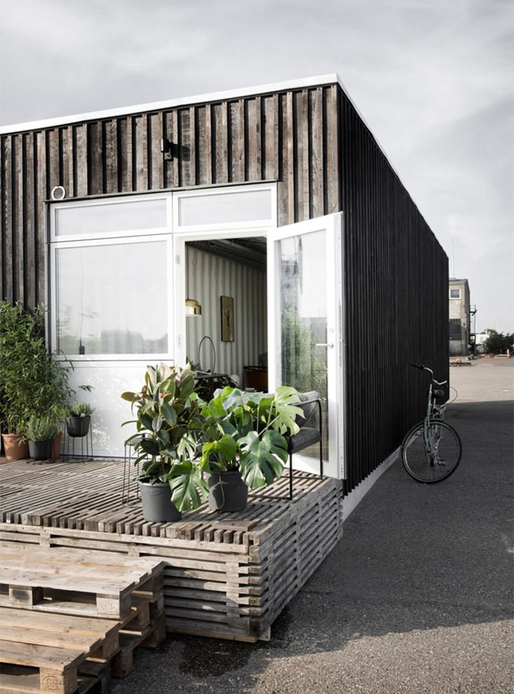 Vila de casas contêiner para estudantes na Dinamarca - limaonagua