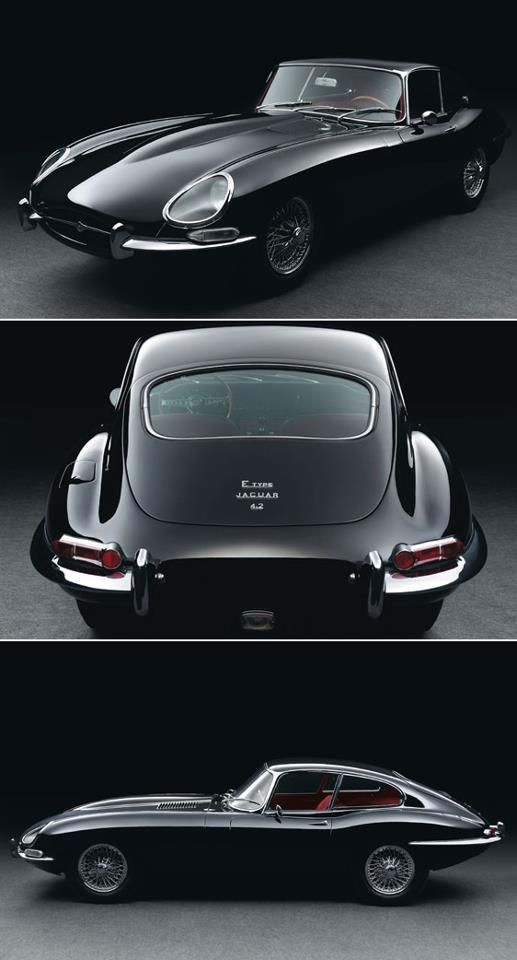 Jaguar E-Type - one of the most beautiful cars ever made. Click to buy the artwork. #autoart #autoawesome