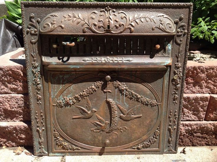 75 Best Cast Iron Fireplace Back Plates Images On Pinterest Fireplace Screens Cast