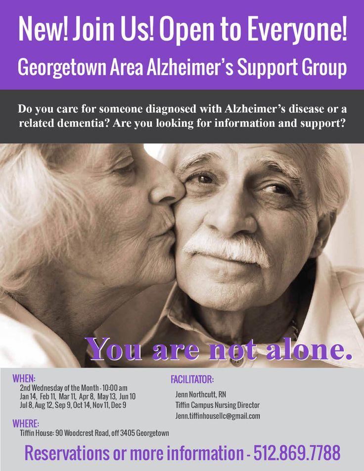 Alzheimer's Support Group Flyer - 2015