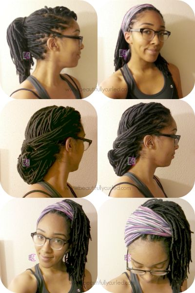 74 best women faux locs images on pinterest protective hairstyles beautifully curled styling options with yarn wraps solutioingenieria Choice Image