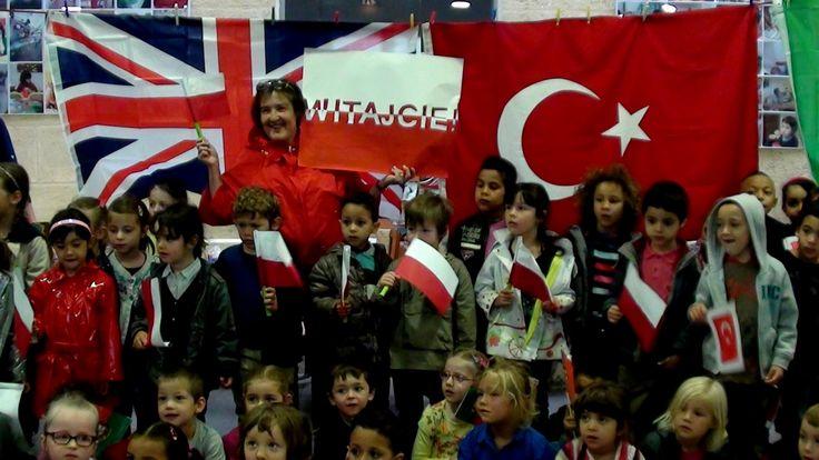 Powitanie polskich nauczycieli w Bordeaux.
