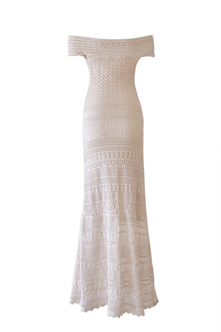 Vestido Tricot Renda Segredo | Galeria Tricot - Galeria Tricot