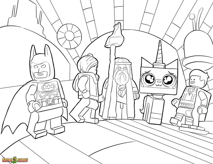 Lego Movie Coloring Pages Pdf : The lego movie coloring page unikitty lord