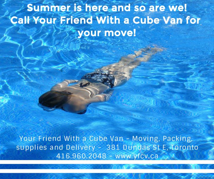 #Summer is here and so are we! #Hire Your Friend With a Cube Van for your #move! #Toronto #Movers 416.960.2048 #Moving #Packing #Supplies #Delivery - 381 Dundas St E, Toronto #YFCV www.yfcv.ca - Debit, Credit or Cash