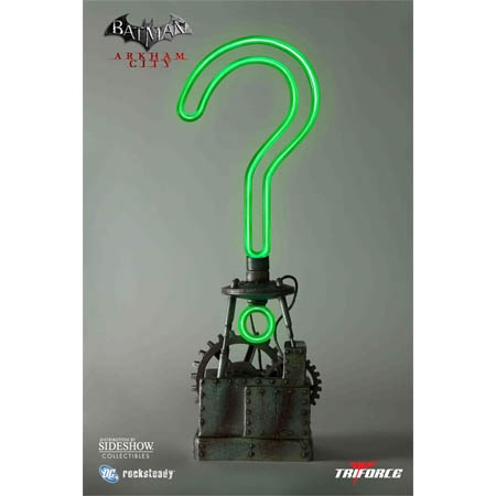 Image detail for -Preorder: Batman Arkham City Riddler Trophy Prop Replica