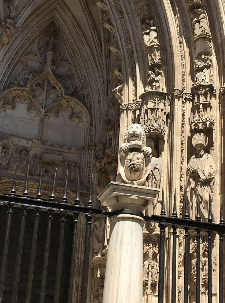 Lion. Cathedrale de Tolede. Espagne
