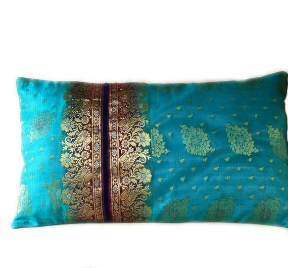 What a lovely use for my sari fabric!