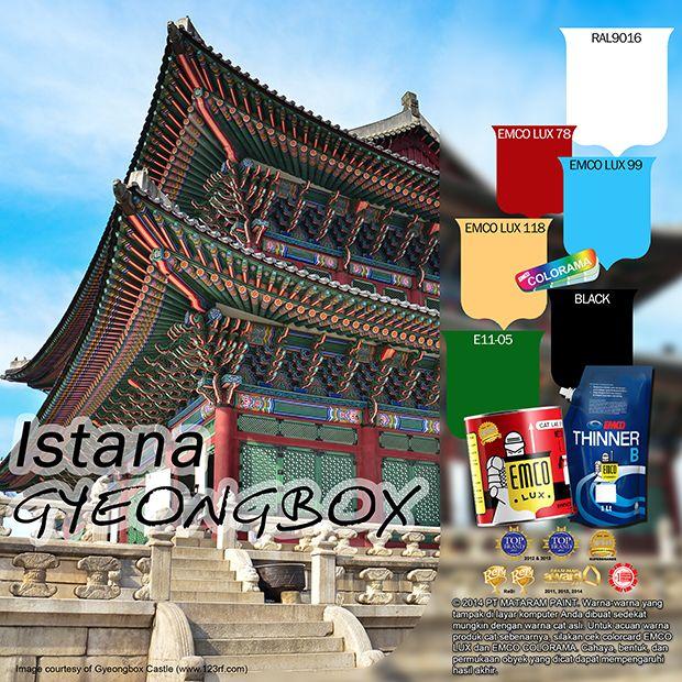 Istana Gyeongbox #gyeongbox #palace #beauty #color #culture #likeforlike http://matarampaint.com/detailNews.php?n=394