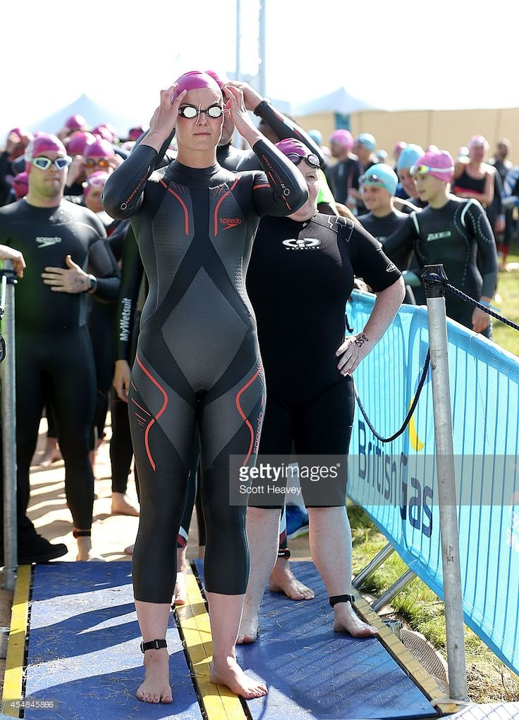 Keri Anne Payne during the British Gas SwimBritain event at Blenheim Palace on September 7, 2014 in Woodstock, England.