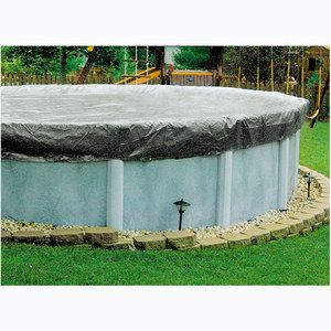 High quality winter covers for above ground swimming pools for Above ground pool winter cover ideas