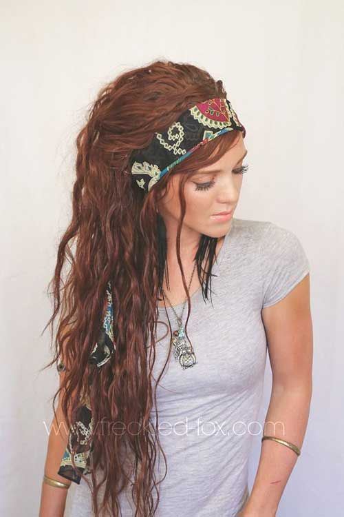 Bohemian Hairstyles | 40+ Best Bohemian Hair | Long Hairstyles 2015 & Long Haircuts 2015