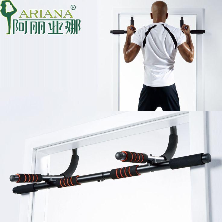 siłownia w domu, drążek na drzwi