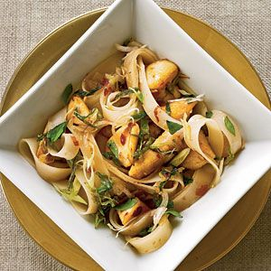 Thai Rice noodles with chicken. To try this week.